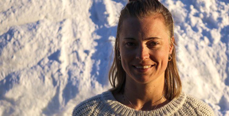 Irma Krantz Golinski är på plats i Riksgränsen för NM 2019.