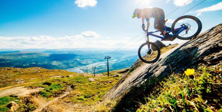 Åre är en av Sveriges 7 bästa bike parks sommaren 2019.