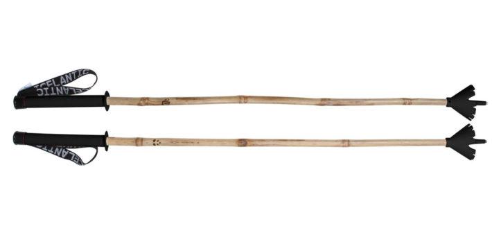 Med bambustavar syns du garanterat i liftkön.