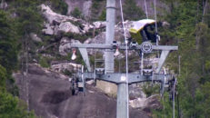 Gondollift i Kanada saboterad – vajern kapad och skadorna är enorma