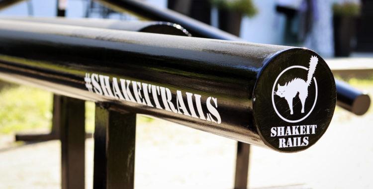 Bygg din egen park med Shake It Rails.