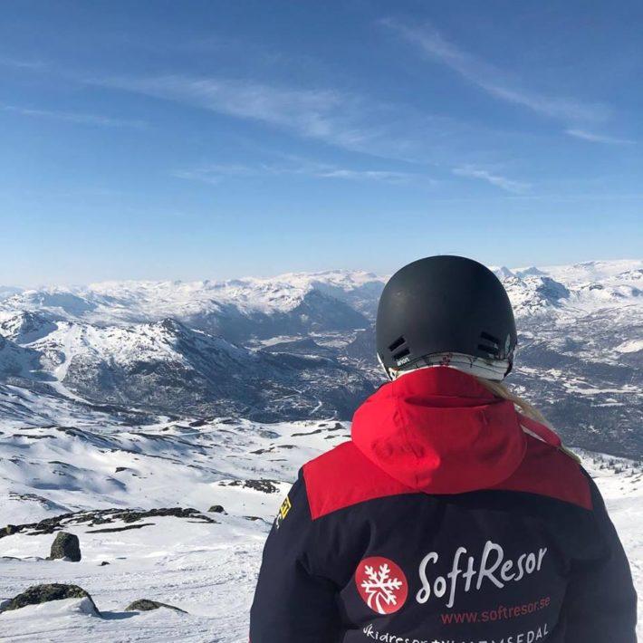En av Softresors guide i Hemsedal.