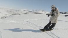 Snowskate-kungen Eddie glider vidare