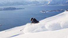 Bodø Norge: Det vackra och vilda barnet Sjunkhatten