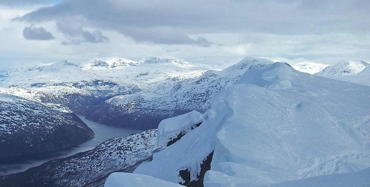Häng med på ett äventyr i norr vid Narvik som var på väg att sluta i tragik.