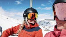 Kajsa & Malou på vårshred i Gränsen