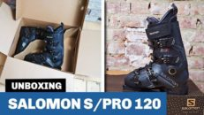 Unboxing: Salomons skidpjäxa S/PRO 120
