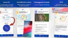 SOS Alarm hjälper nödställda i fjällen tack vare app