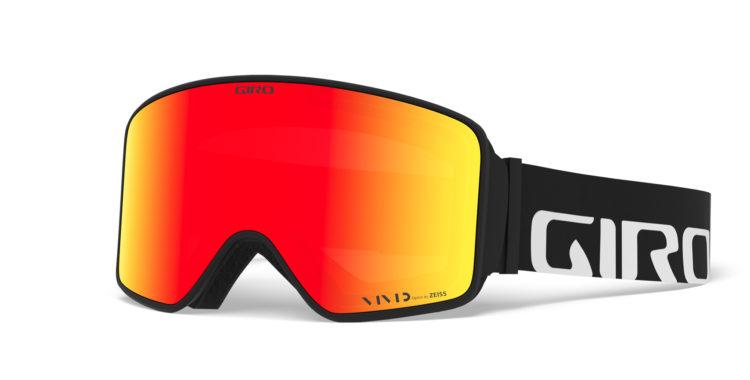 Giro Method, Black Wordmark med Vivid Ember är ett par av gogglarna du kan vinna.