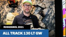 Chargerpjäxa med tech-inserts: All Track 130 LT GW