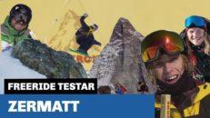 Freeride testar: Zermatt