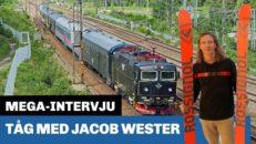 MEGA-intervju: På tåg med Jacob Wester