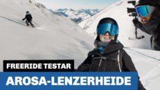 Freeride testar: Arosa Lenzerheide