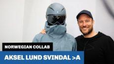 Norskar som möts: Aksel Lund Svindals >A och Sweet Protection