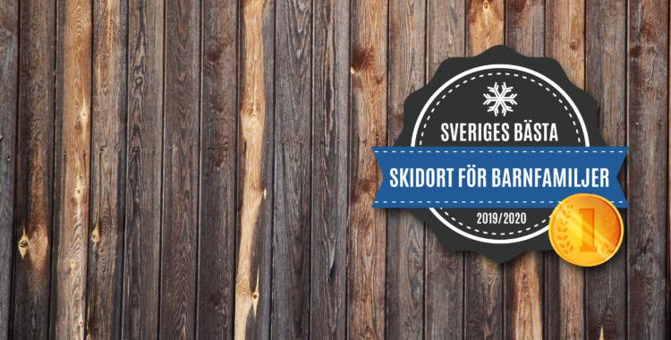 Sveriges bästa skidort för barnfamiljer 2019/2020.
