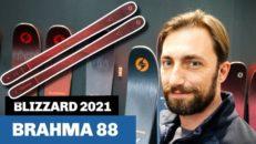 Blizzard Brahma 88 [2021]: pistslaktare med progressivt flex