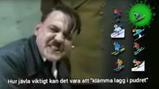 Ny corona-parodi: Hitler rasar över smittspridningen