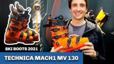 Tecnica Mach1 MV 130: kolfiberförstärkt pjäxa