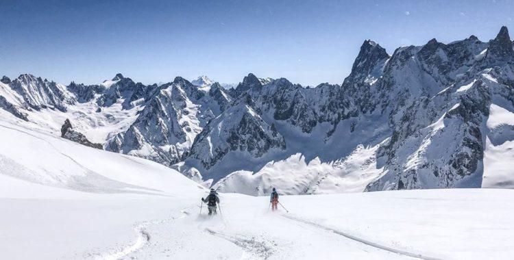 Det var inte bara skidor som lockade utan just att göra en vintersäsong i Chamonix.