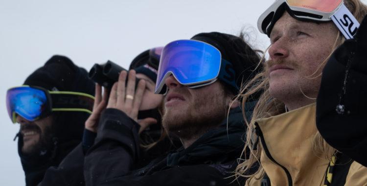 Åkarna på världstouren laddar inför en snöig tävling i Fieberbrunn imorgon söndag.
