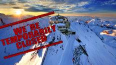 Nu är Alpernas skidorter stängda på grund av corona