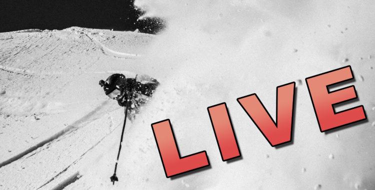 Live från Österrike och Freeride World Tour, sändningen startar 8.15 söndag morgon.