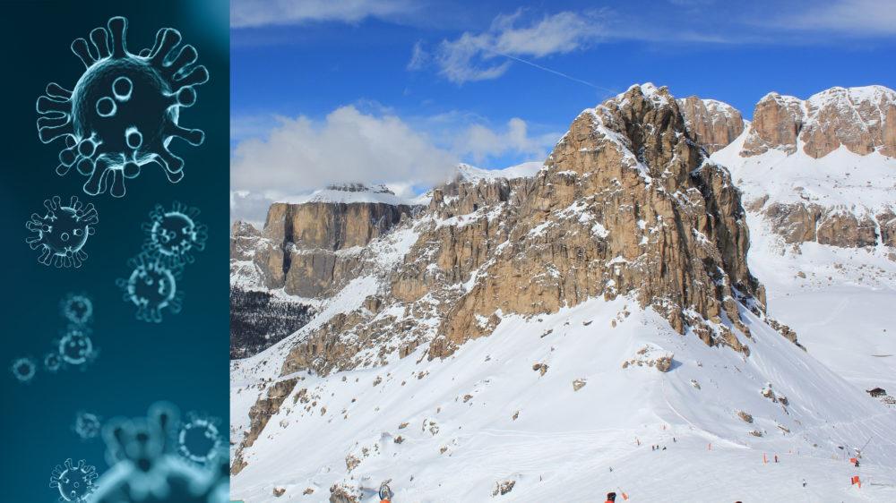 Svenskt par corona-smittade efter skidresa i Canazei, Italien