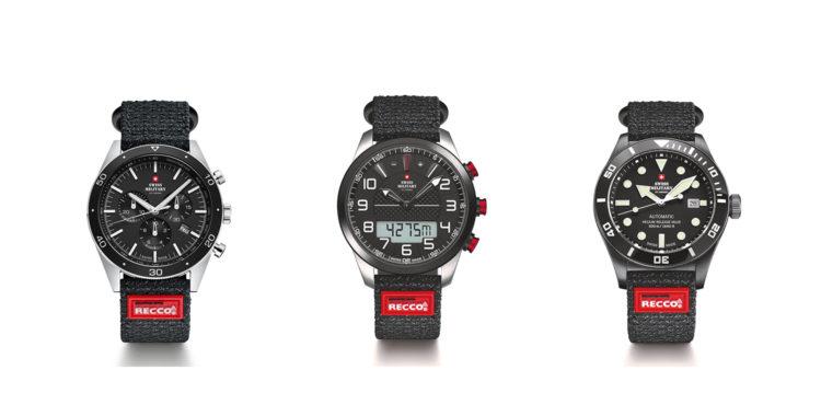 Swiss Military by Chrono: stilrena & sportiga kvalitetsklockor med recco-reflektor i armbanden