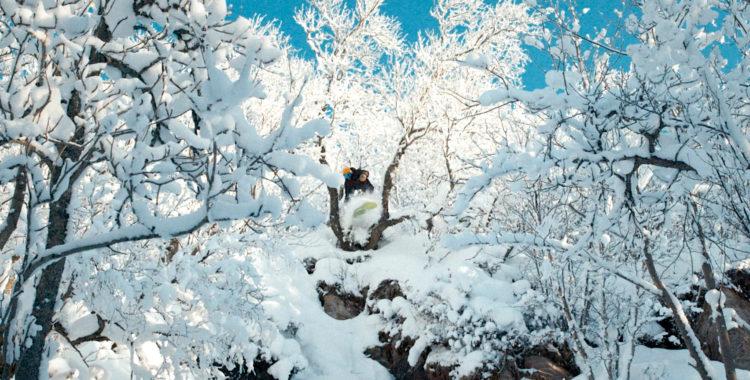 Jonas Wilhelmsson målar bergen med sin bräda