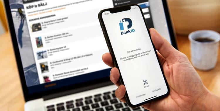 Nu införs verifiering med BankID på Köp & Sälj.