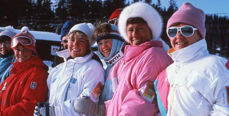 Skidgäster Lindvallen. Skistar började i just Sälen 1975 och är nu 45 år fyllda.