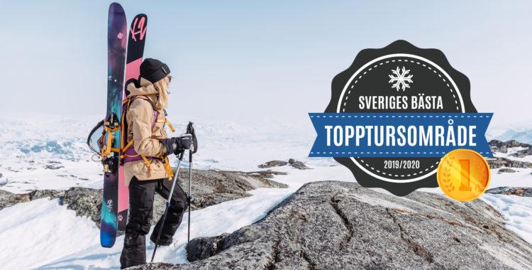 Sveriges bästa topptursområde 2020.