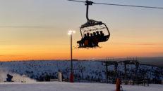 Rekordintresse för skidåkning över jul- och nyår i Sälenfjällen