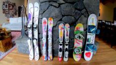 Tillverka egen, ny design till din skidor