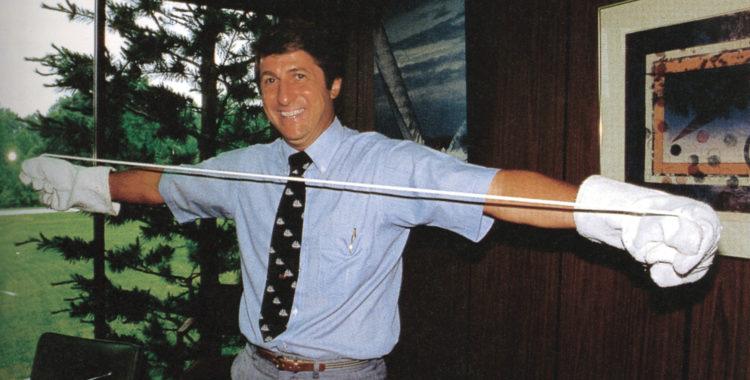 Robert W. Gore som uppfann materialet Gore-Tex gick bort förra fredagen, han blev 83 år.