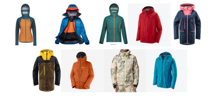 Persedlar för skidåkning vintern 2021.