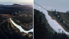 Imorgon öppnar första skidorten i Sverige
