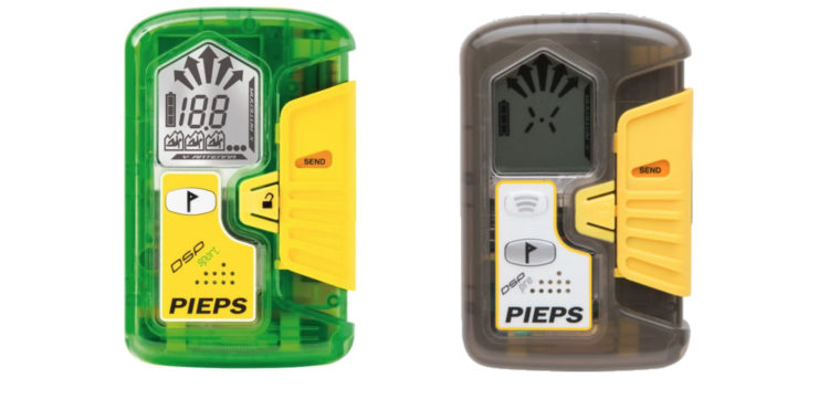Pieps lavinsändare DSP Sport och DSP Pro har fått kritik för sin knapp som växlar mellan sök- och sänd-läge.