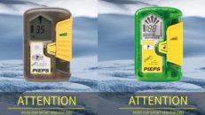 Pieps erbjuder uppgradering av lavinsändarna DSP Sport och DSP Pro