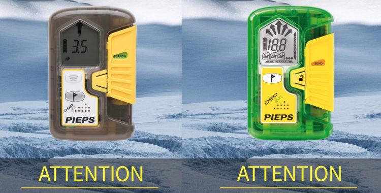 Pieps sändare DSP Sport och Pro har varit i blåsväder, nu erbjuds utbyte mot nyare produkter.