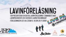 LIVE: Lavinföreläsning 26 nov kl 19:00