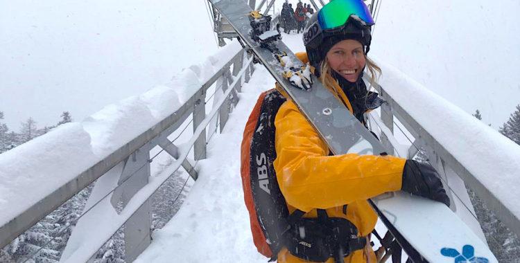 Tove Kockum sitter med i styrelsen för Skiers Left.