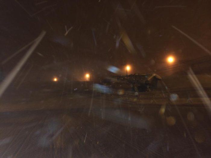 Snø i Kvitfjell.