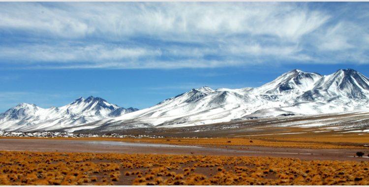 Vackra vyer i Chile.