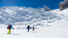 Kvinnliga bergsguider i Chamonix