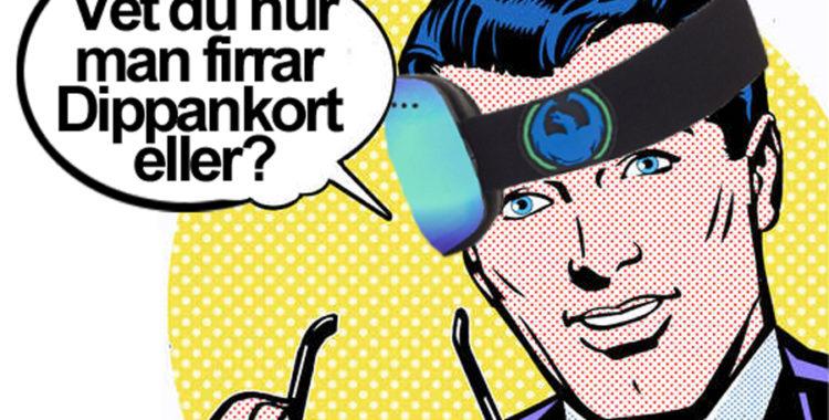 Dippankortet, ett givet no-no när du pratar med locals i Åre