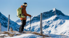 Lovisa Rosengren flydde från betongpudret i Chamonix