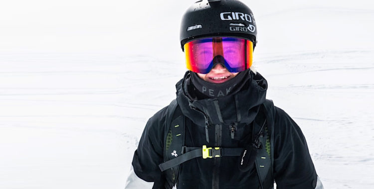 Max Palm är redan som 18 åring professionell friåkare.