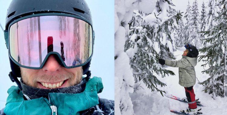 Sälenfjällen har mer snö än vanligt, särskilt Tandådalen-Hundfjället.