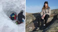 Lavinen i Verbier: Begravd 4,6 meter under snön